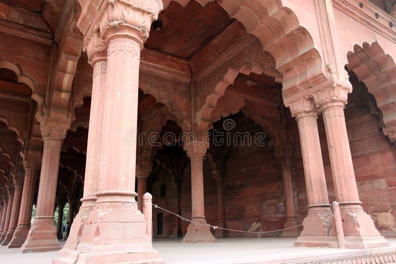 Fort rouge (Lal Qil'ah) à Delhi photo libre de droits
