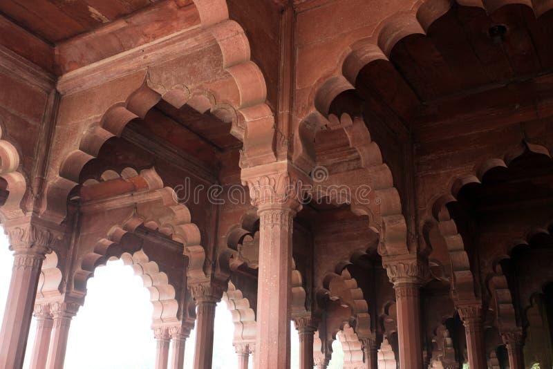 Fort rouge (Lal Qil'ah) à Delhi photos libres de droits