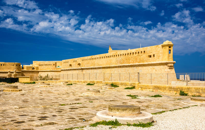 Fort Saint Elmo in Valletta. Malta stock images