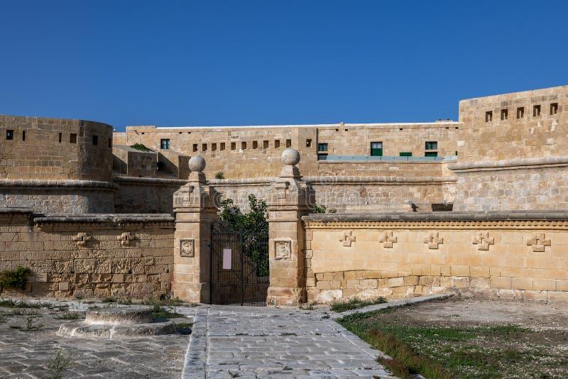 Fort Saint Elmo in Valletta, Malta stockfotografie