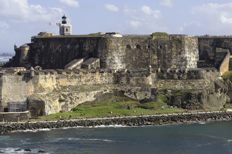 Fort San Felipe del Morro photo stock