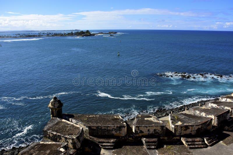 Fort San Juan Puerto Rico d'EL Morro images libres de droits
