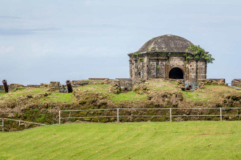 Fort San Lorenzo. In the province of Colon Panama stock photo