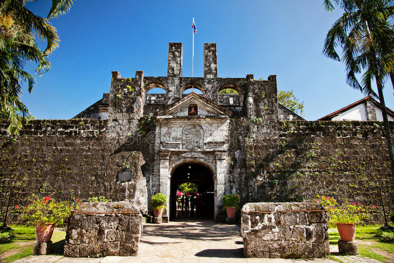 Fort San Pedro arkivbilder