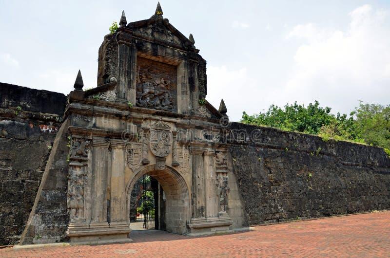 Fort Santiago lizenzfreie stockfotografie