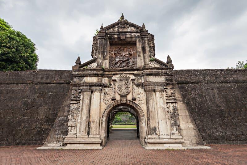 Fort Santiago stockbild