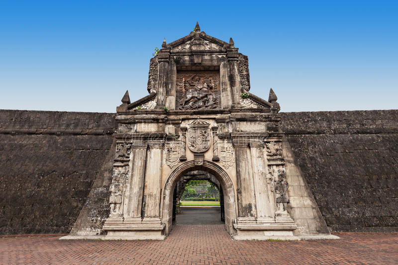 Fort Santiago images stock