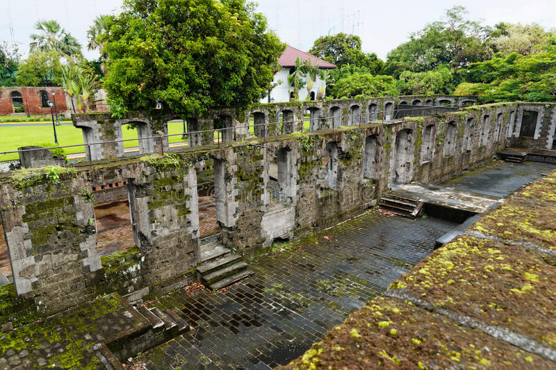 Fort Santiago, Intramuros, Manila (Philippines) royalty free stock photos