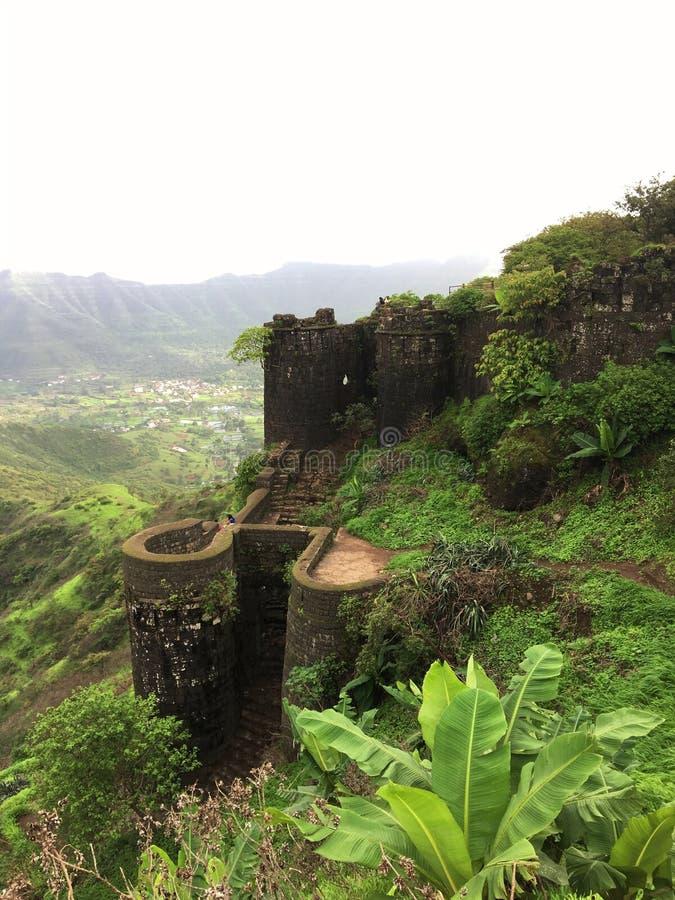 Fort Sinhagad obrazy stock