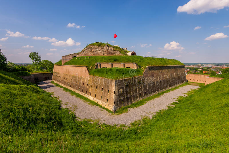 Fort Sint Pieter Maastricht royalty free stock image