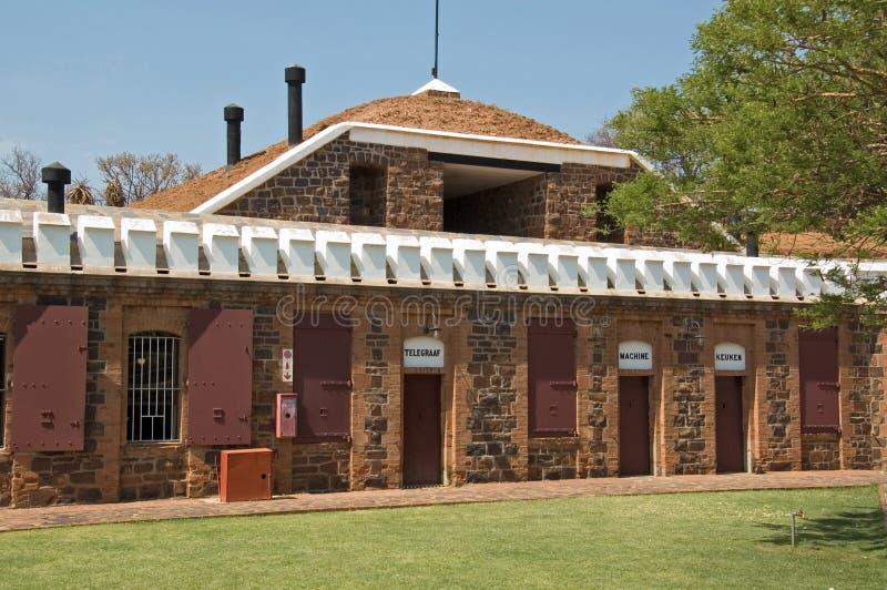 Fort Skanskop, Pretoria, Sydafrika royaltyfria foton