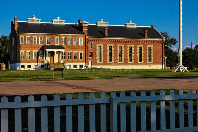 Fort Smith National Historic Site lizenzfreie stockfotos