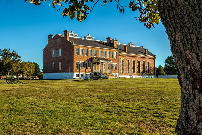 Fort Smith National Historic Site stockbilder