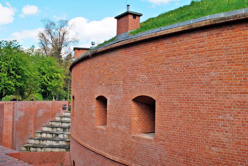 Fort Sokolnickiego royalty-vrije stock afbeelding