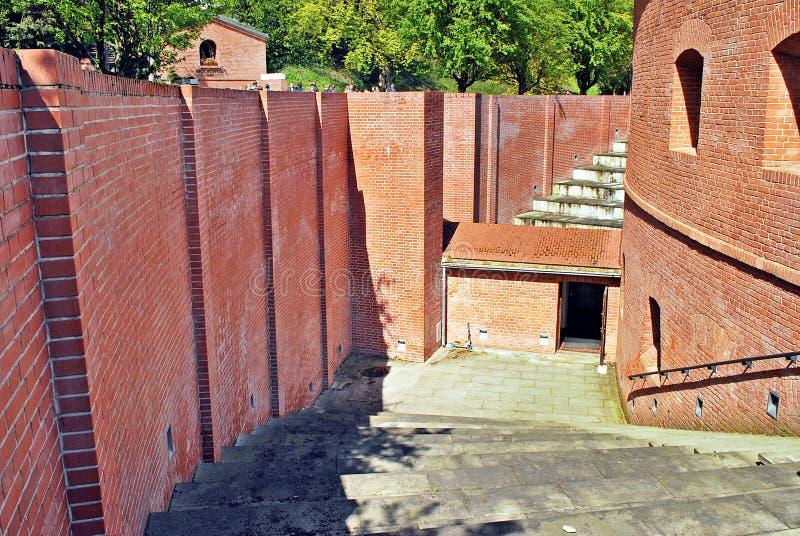 Fort Sokolnickiego royalty-vrije stock afbeeldingen