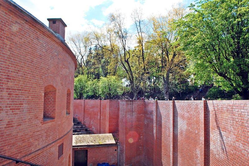 Fort Sokolnickiego fotografia royalty free