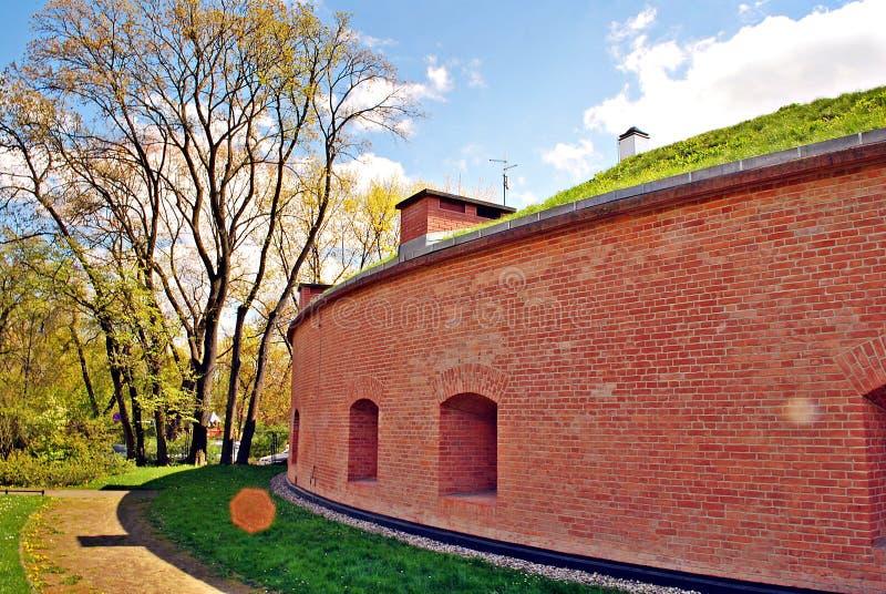 Fort Sokolnickiego royaltyfri bild