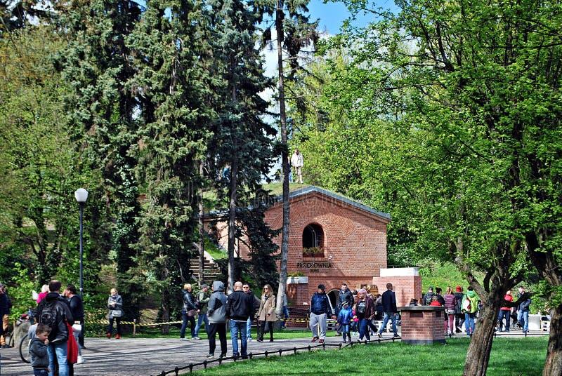 Fort Sokolnickiego arkivfoto