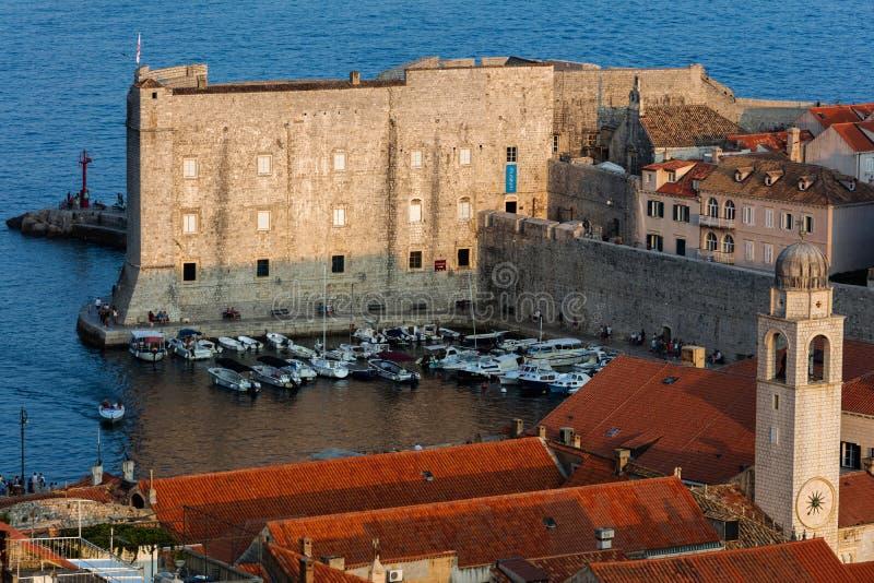 Fort St John w Dubrovnik, Chorwacja, zdjęcie royalty free