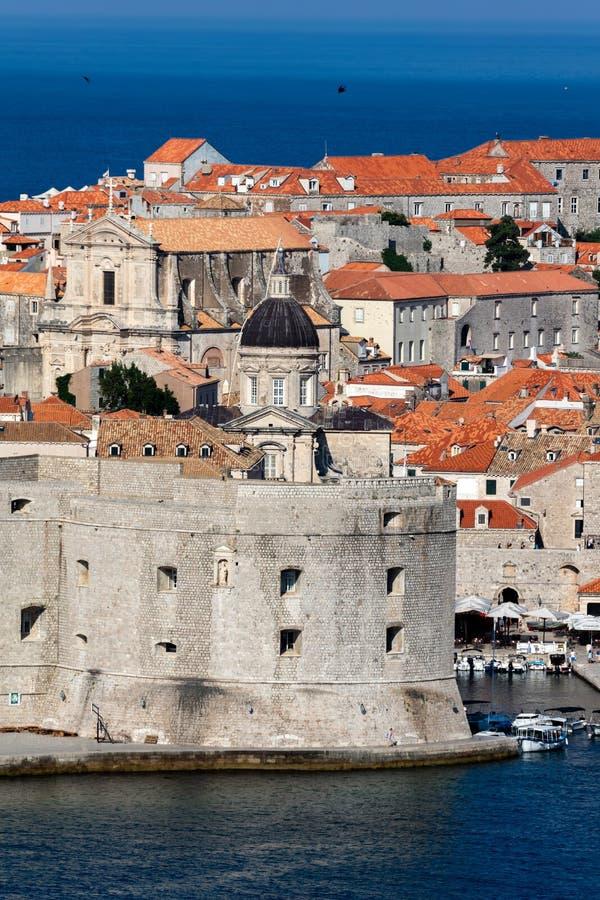 Fort St John w Dubrovnik, Chorwacja, fotografia stock