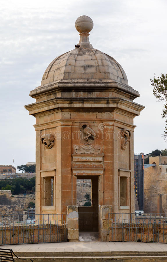 Fort St Michael, Malte. 2013 image stock