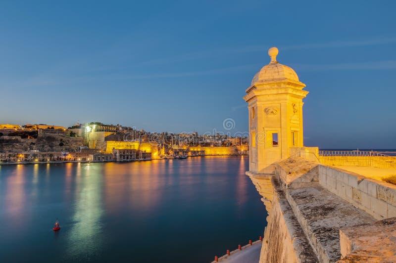 Fort St Michael in Senglea, Malta lizenzfreies stockfoto