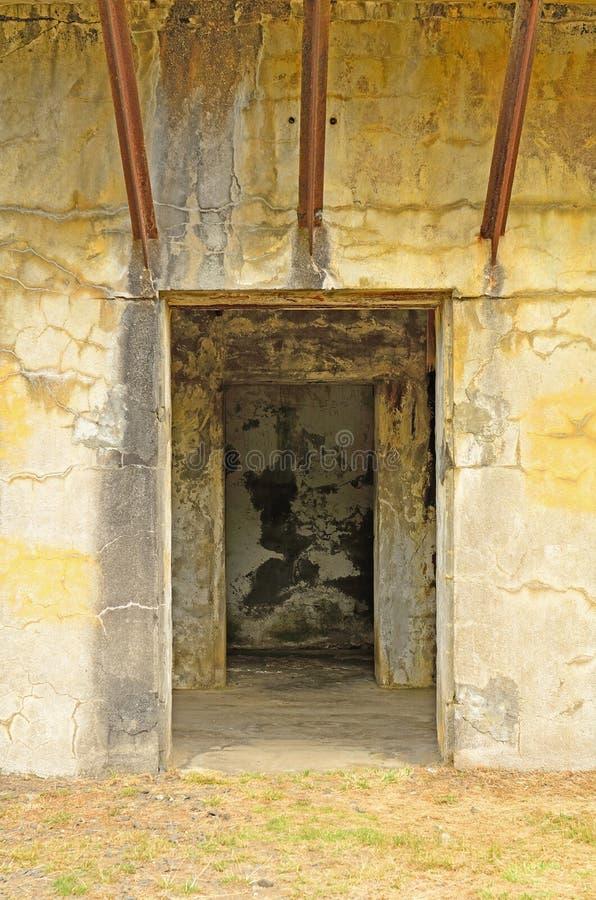 Fort Stevens royalty-vrije stock foto