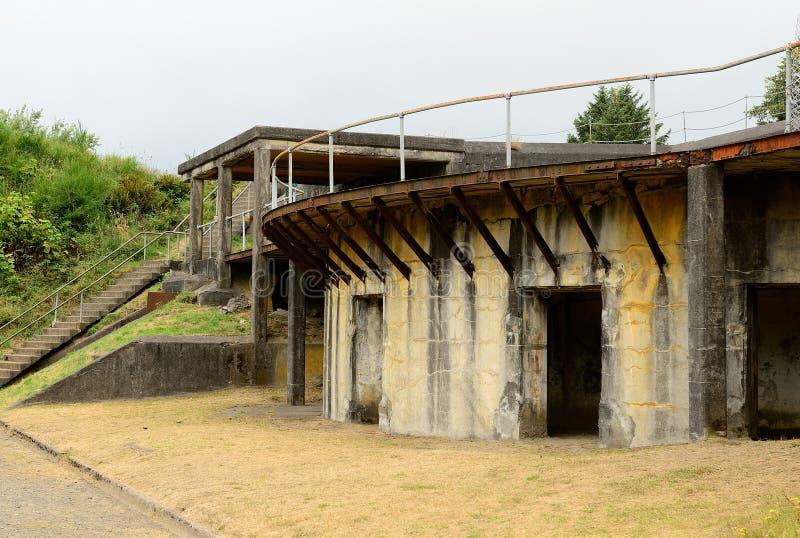 Fort Stevens royalty-vrije stock afbeeldingen
