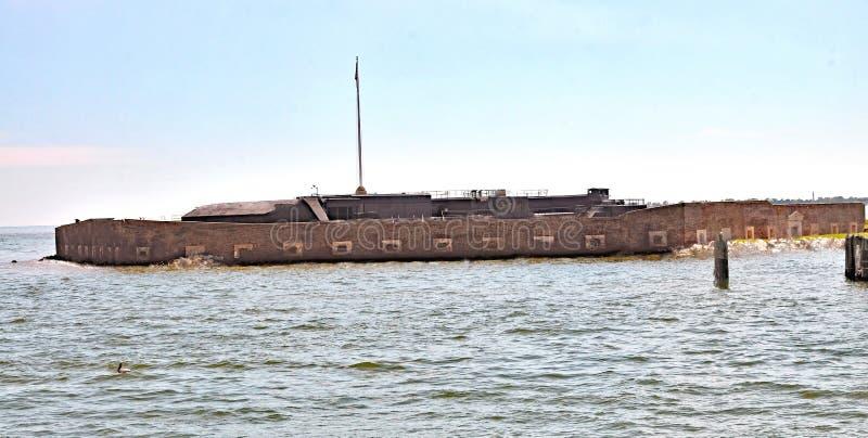 Fort Sumter royalty-vrije stock afbeeldingen