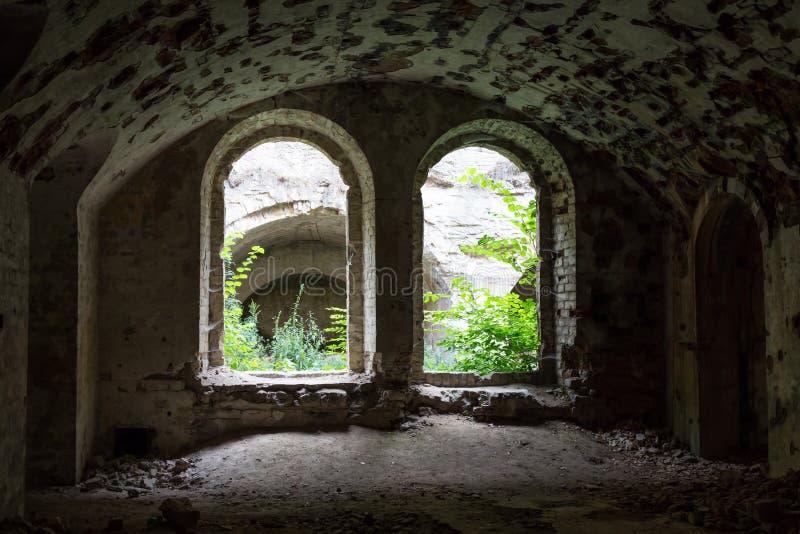 Fort Tarakanovskiy nach innen Dubno ukraine lizenzfreie stockfotografie