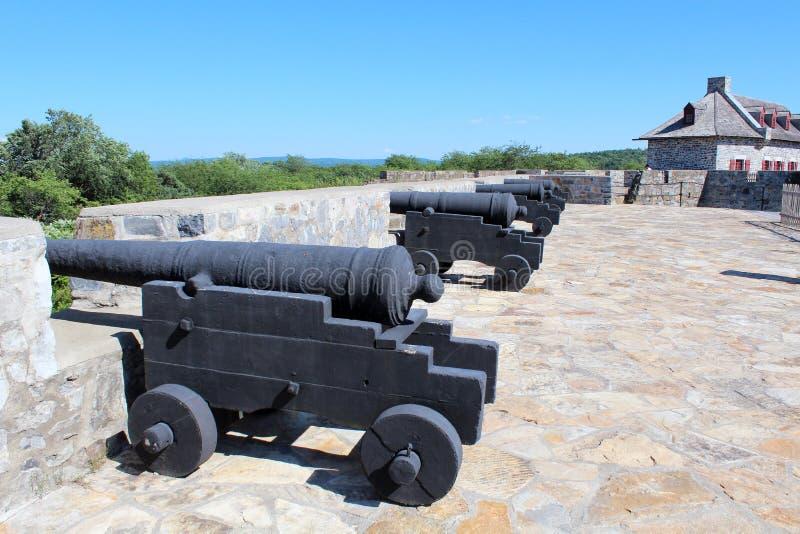 Fort Ticonderoga fotografering för bildbyråer