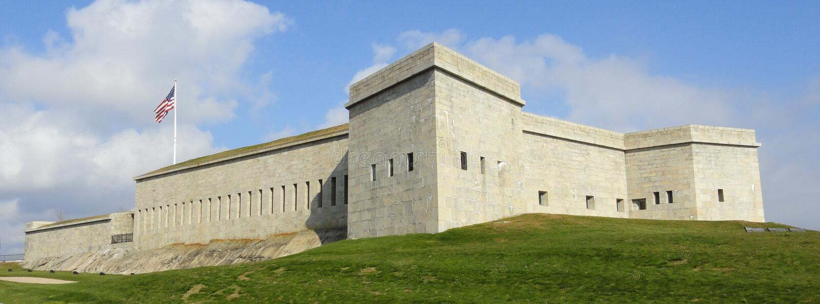 Fort Trumbull stockfotos