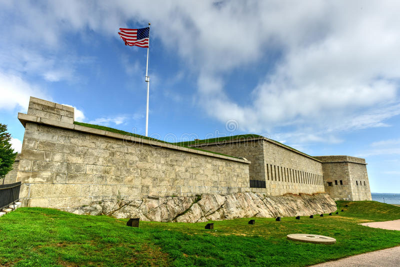 Fort Trumbull - neues London, Connecticut lizenzfreie stockfotografie