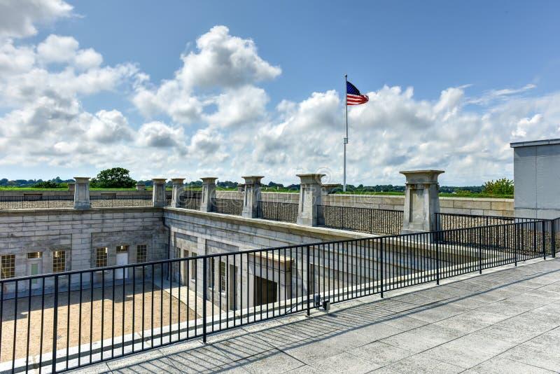 Fort Trumbull - neues London, Connecticut lizenzfreies stockfoto