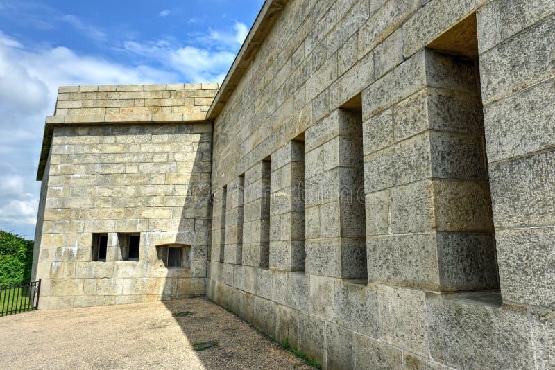 Fort Trumbull - nouvelle Londres, le Connecticut photographie stock
