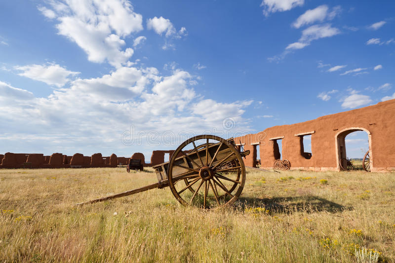 Fort Union National Monument royalty free stock photography