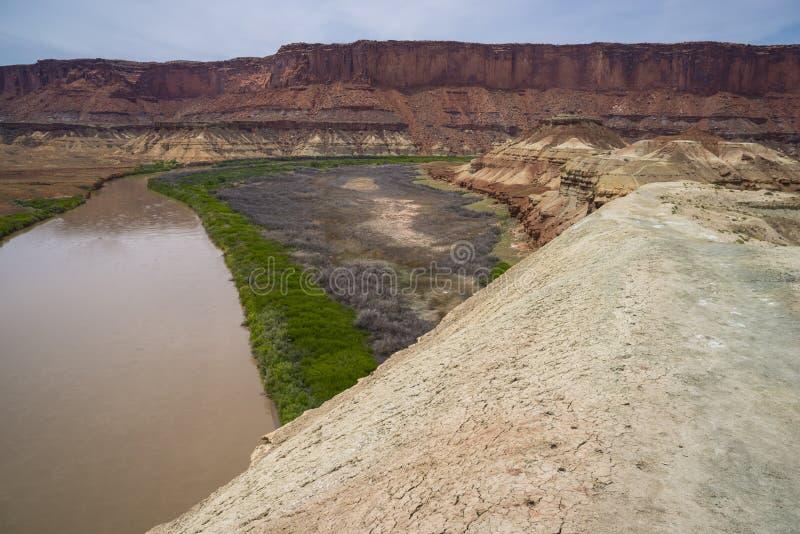 Fort-Unterseiten-Hinterweiß Rim Road Utah lizenzfreie stockfotos