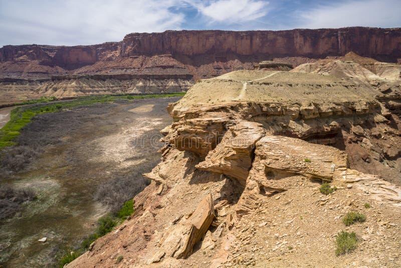 Fort-Unterseiten-Hinterweiß Rim Road Utah lizenzfreies stockfoto