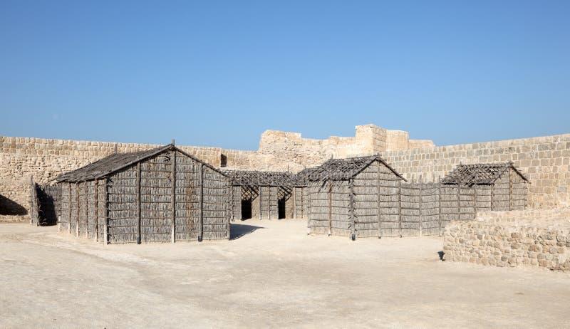 Fort van Bahrein in Manama, Bahrein stock fotografie