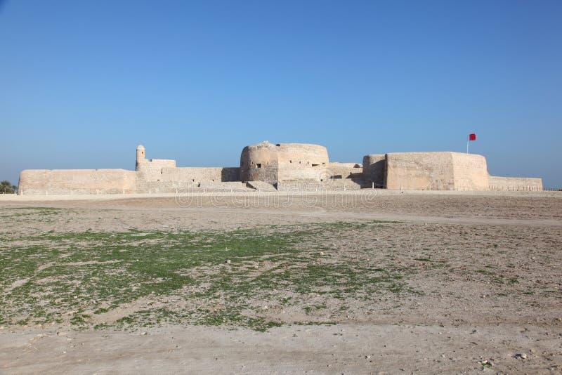 Fort van Bahrein in Manama, Midden-Oosten royalty-vrije stock fotografie