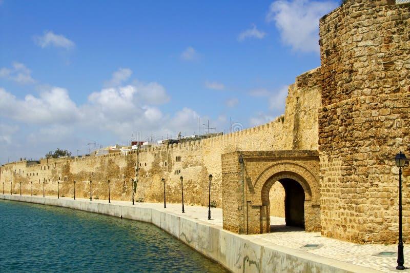 Fort van Bizerte, Tunesië stock afbeelding
