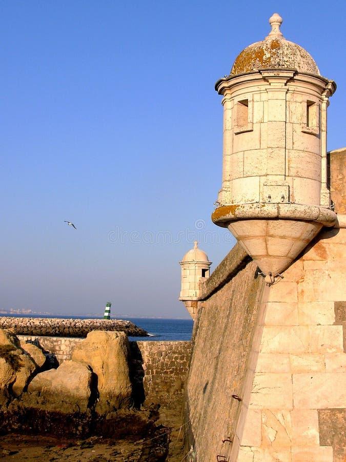 Fort van Lagos I stock fotografie