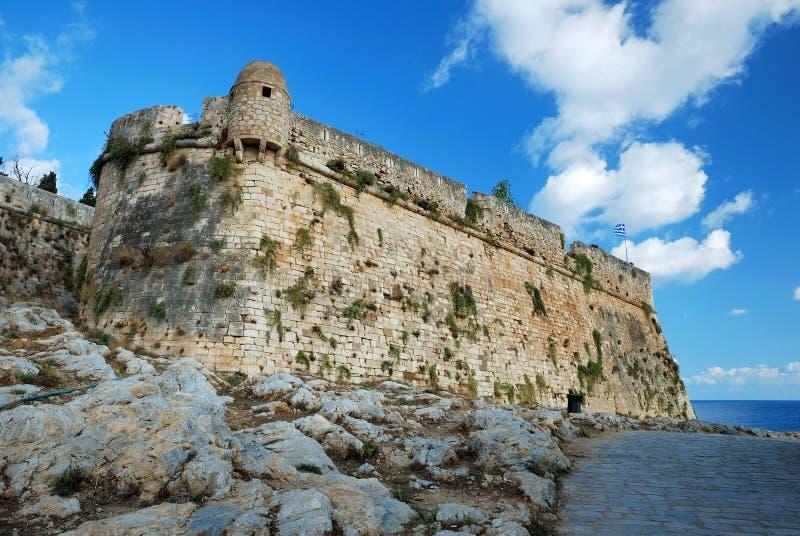 Fort van Rethymnon royalty-vrije stock afbeelding