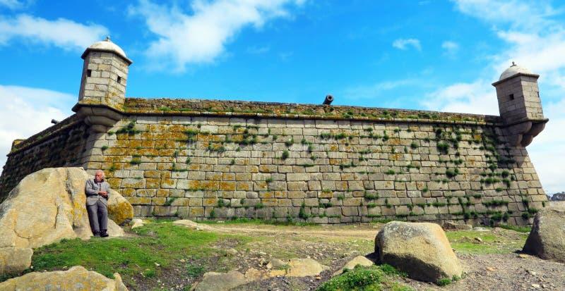 Fort van São Francisco do Queijo royalty-vrije stock fotografie