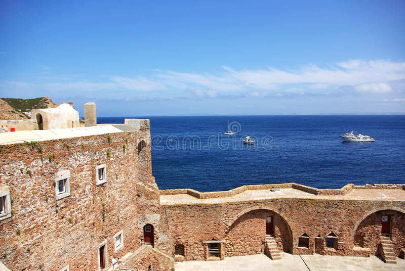 Fort van St John Doopsgezind. royalty-vrije stock afbeelding