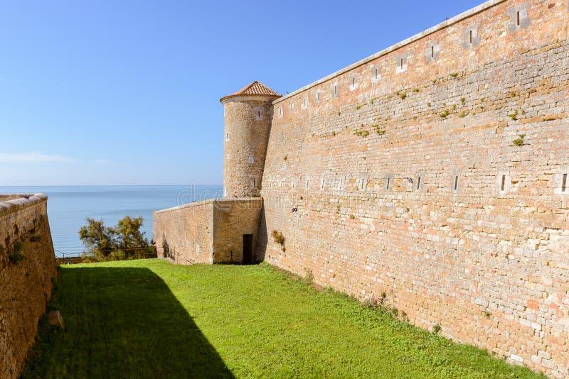 Fort Vauban of Fouras, France. Fort Vauban of Fouras, Nouvelle-Aquitaine, France royalty free stock photos