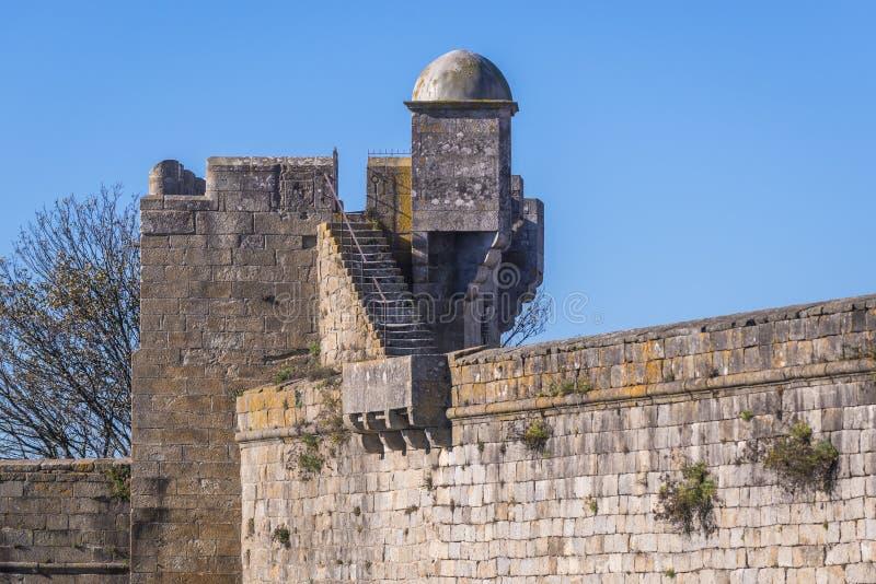 Fort in Viana do Castelo stock images