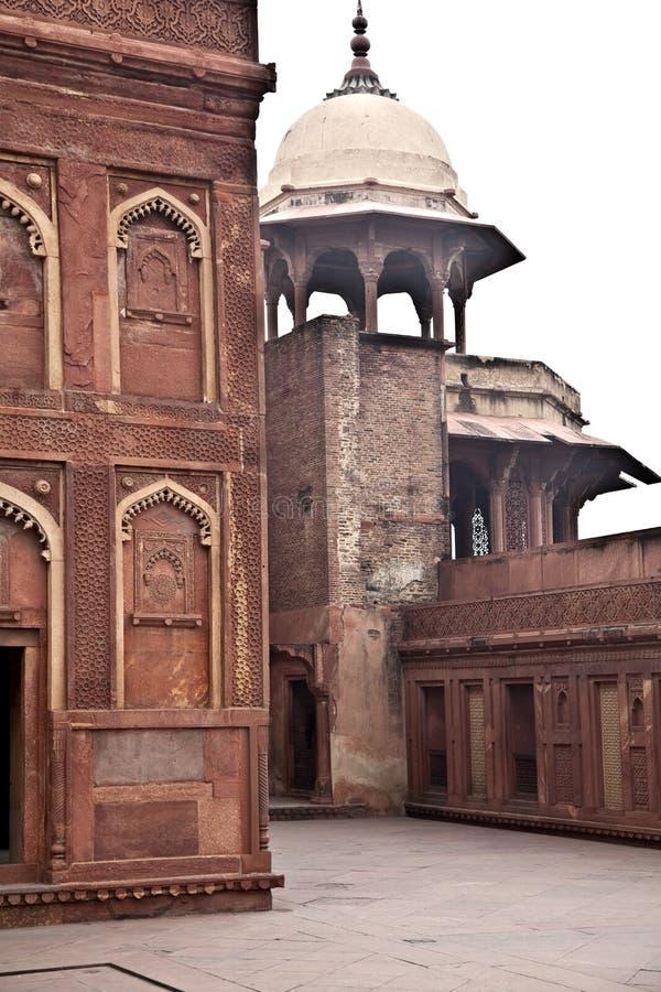 Fort von Agra, Indien lizenzfreies stockfoto