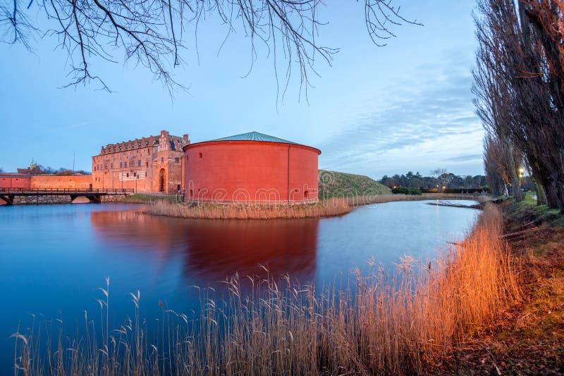 Fort w Malmo, Szwecja fotografia royalty free