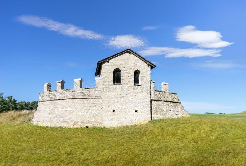 Fort Waldmoessingen. Roman castle near Schramberg, Baden-Wuerttemberg, Germany royalty free stock photo